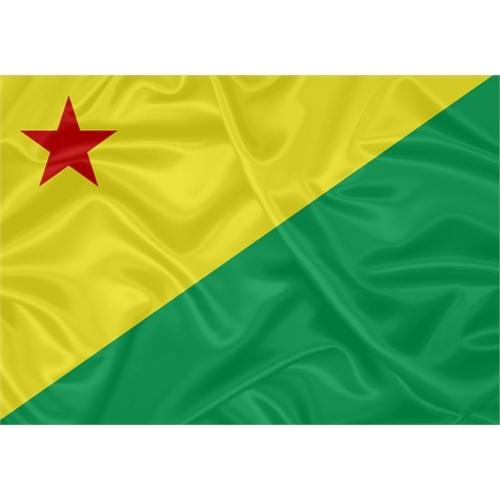 Bandeira Estampada Acre