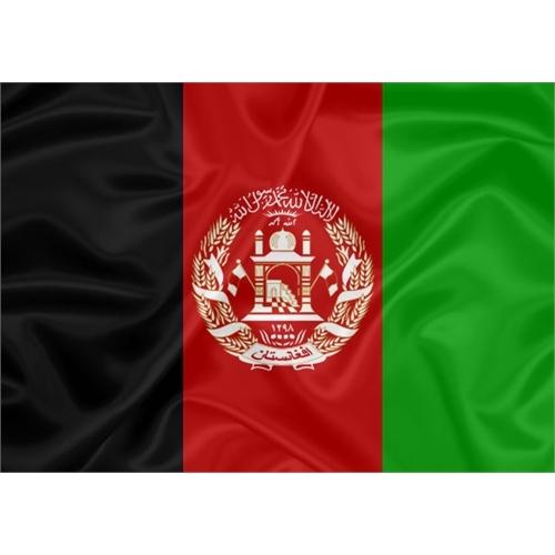 Bandeira Estampada Afeganistão