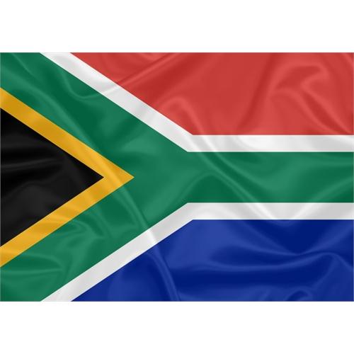 Bandeira Estampada África do Sul