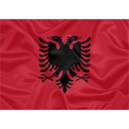 Bandeira Estampada Albânia