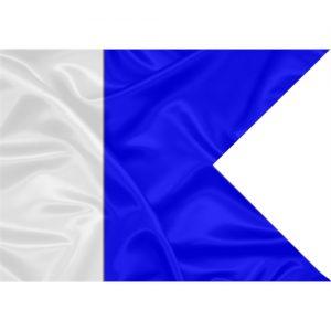 Bandeira Náutica Alfa