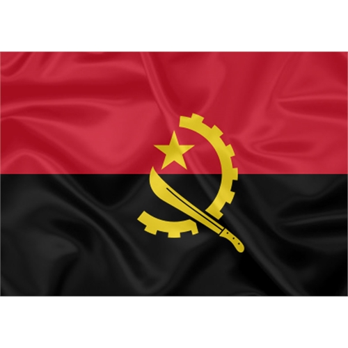 Bandeira Estampada Angola