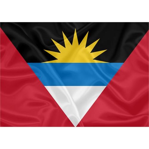 Bandeira Estampada Antígua e Barbuda