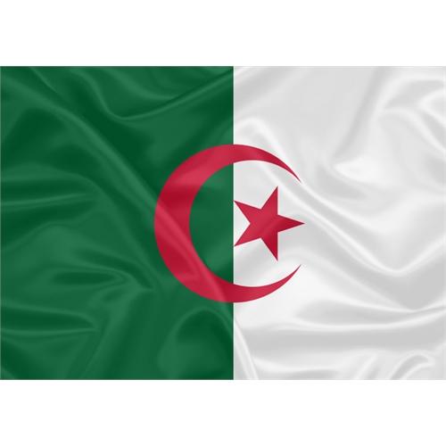 Bandeira Estampada Argélia