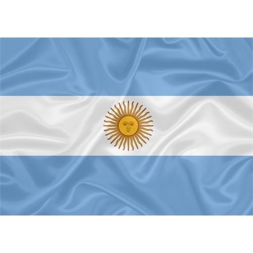 Bandeira Estampada Argentina