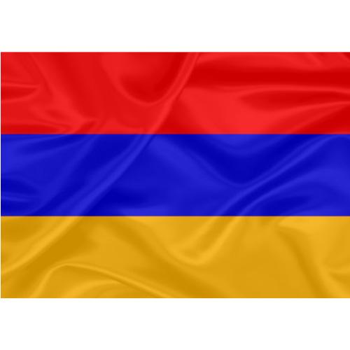 Bandeira Estampada Armênia