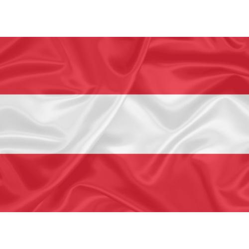 Bandeira Estampada Áustria