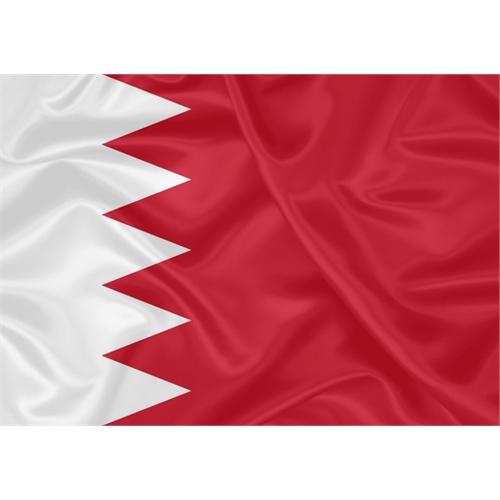 Bandeira Estampada Bahrein