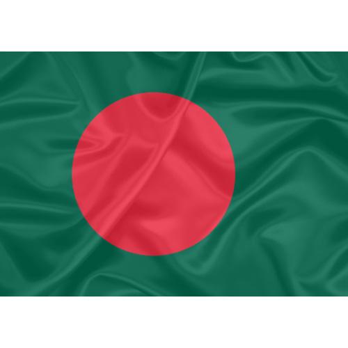 Bandeira Estampada Bangladesh