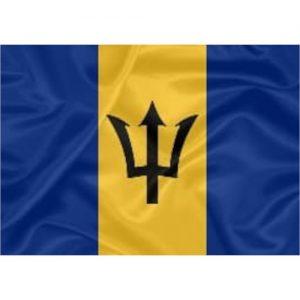 Bandeira Estampada Barbados