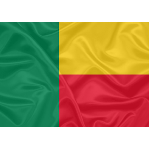 Bandeira Benin