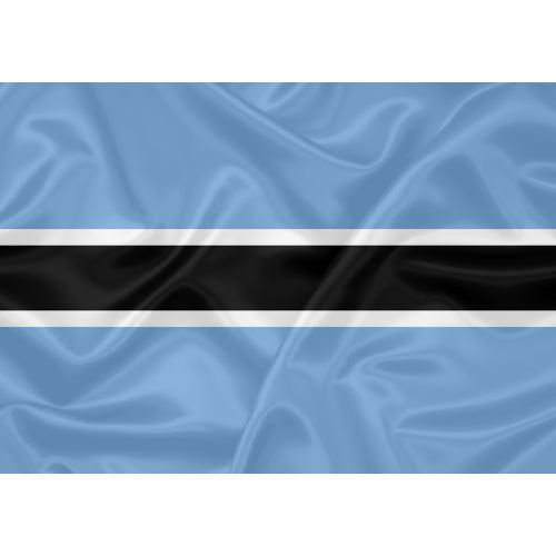 Bandeira Botsuana