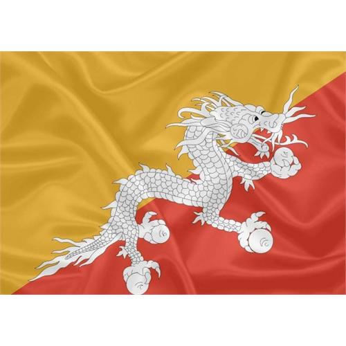 Bandeira Butão