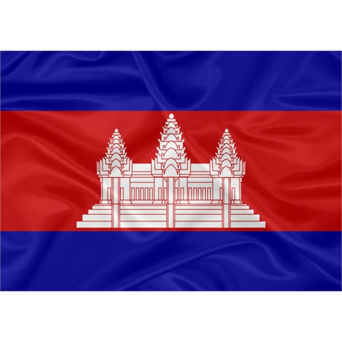 Bandeira Camboja