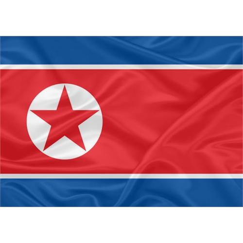 Bandeira Coréia do Norte