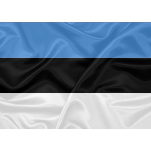 Bandeira Estônia