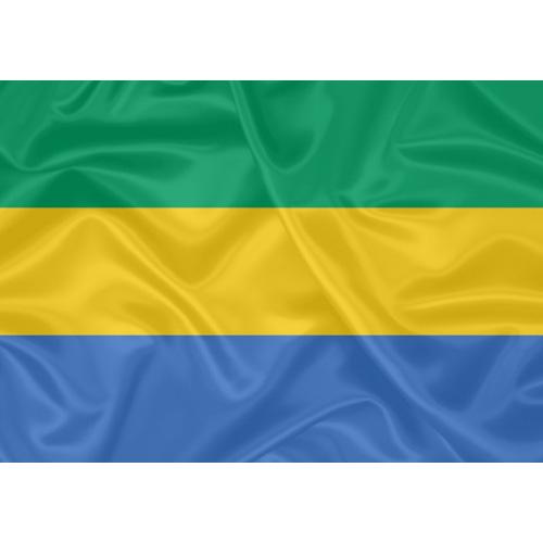 Bandeira Gabão