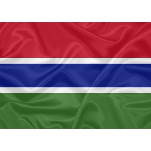 Bandeira Gâmbia