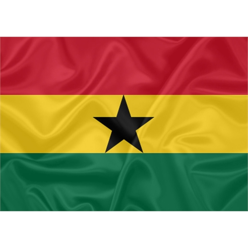 Bandeira Gana