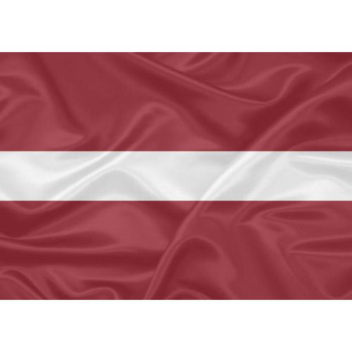 Bandeira Letônia