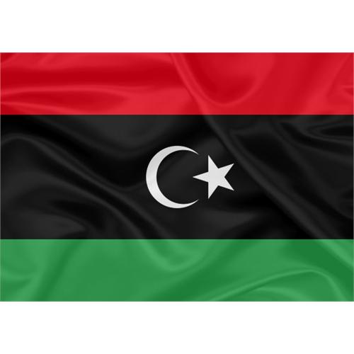 Bandeira Líbia