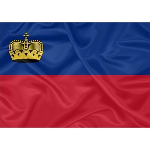 Bandeira Listenstaine