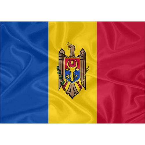 Bandeira Moldávia