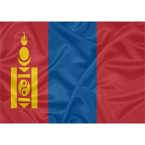 Bandeira Mongólia