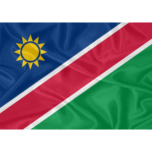 Bandeira Namíbia