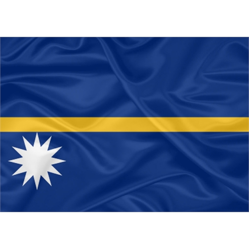Bandeira Nauru