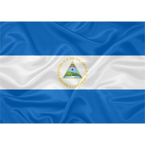 Bandeira Nicarágua