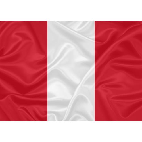 Bandeira Peru Civil