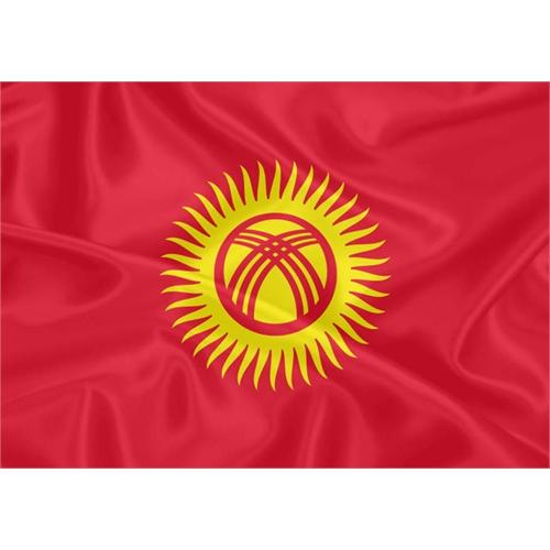 Bandeira Quirguistão