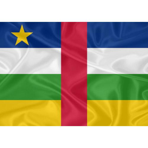 Bandeira República Centro-Africana