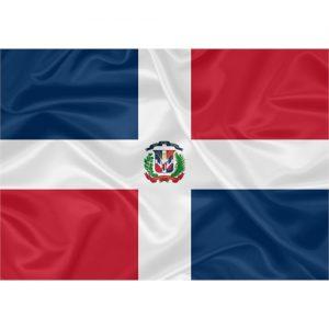 Bandeira República Dominicana