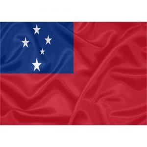 Bandeira Samoa Ocidental