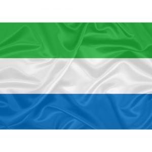 Bandeira Serra Leoa