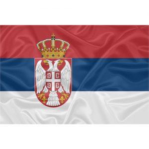 Bandeira Sérvia