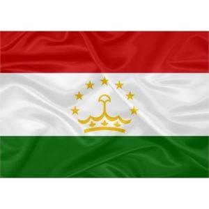 Bandeira Tajiquistão
