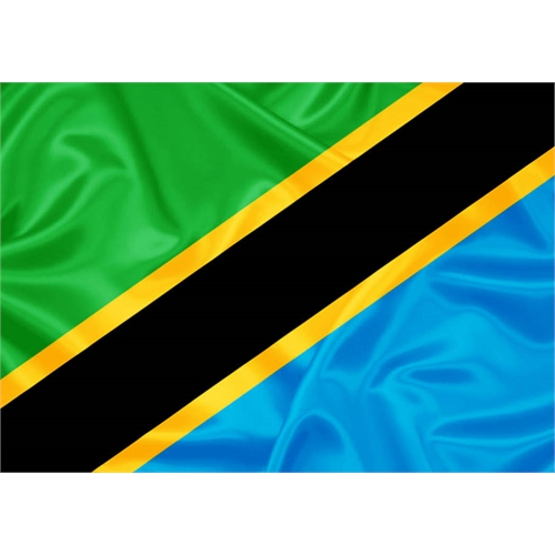 Bandeira Tanzânia