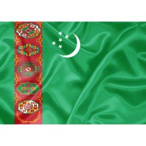 Bandeira Turquemenistão
