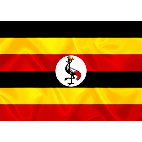 Bandeira Uganda