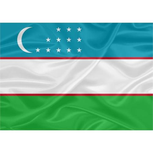 Bandeira Uzbequistão