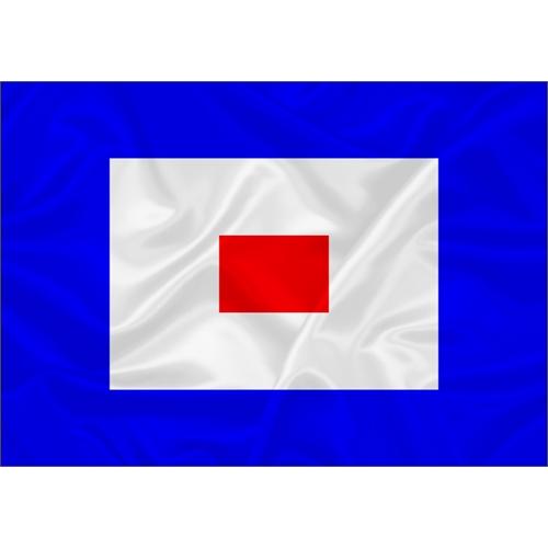 Bandeira Náutica Whiskey