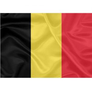Bandeira Estampada Bélgica